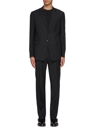 Main View - Click To Enlarge - PRADA - Virgin wool-mohair suit