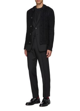 Figure View - Click To Enlarge - PRADA - Virgin wool-mohair suit