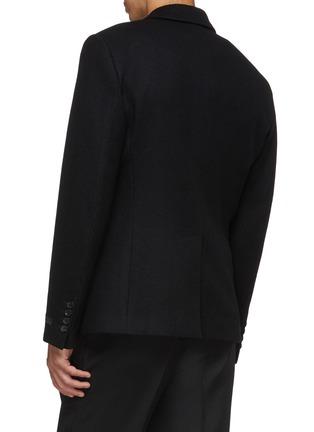 Back View - Click To Enlarge - PRADA - Wool melton blazer