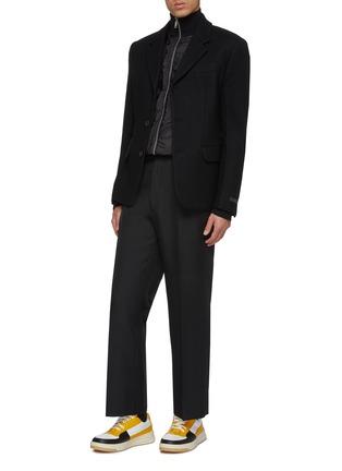 Figure View - Click To Enlarge - PRADA - Wool melton blazer