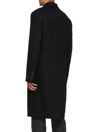 Back View - Click To Enlarge - PRADA - Wool melton coat