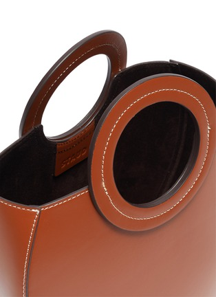 Detail View - Click To Enlarge - STAUD - 'Frida' circular leather tote