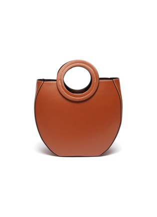 Main View - Click To Enlarge - STAUD - 'Frida' circular leather tote