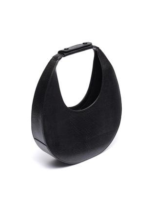 Detail View - Click To Enlarge - STAUD - 'Moon' lizard embossed leather shoulder bag