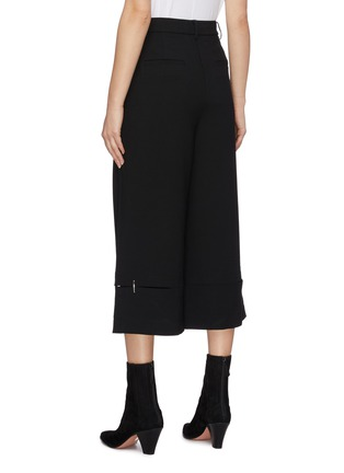 Back View - Click To Enlarge - TIBI - 'Anson' cutout hem culottes