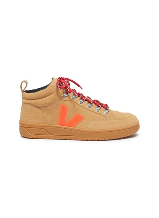Main View - Click To Enlarge - VEJA - 'Roraima' suede high top sneakers