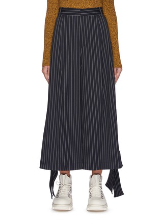 Main View - Click To Enlarge - JW ANDERSON - Sash cuff pinstripe pants