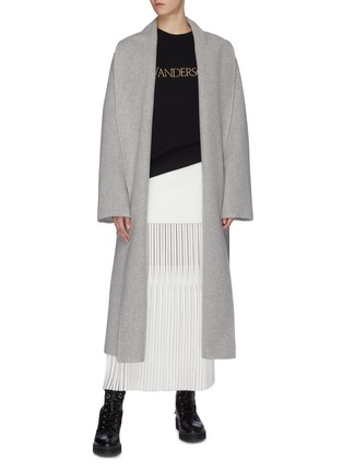 Figure View - Click To Enlarge - JW ANDERSON - Logo embroidered sweatshirt