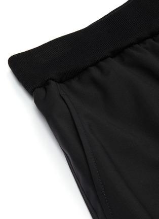 - 3.1 PHILLIP LIM - Elastic waistband virgin wool shorts