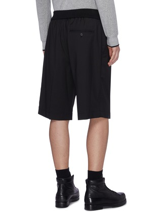 Back View - Click To Enlarge - 3.1 PHILLIP LIM - Elastic waistband virgin wool shorts