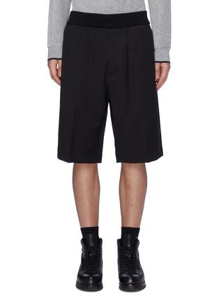 Main View - Click To Enlarge - 3.1 PHILLIP LIM - Elastic waistband virgin wool shorts