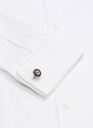 Figure View - Click To Enlarge - BABETTE WASSERMAN - Button cufflinks