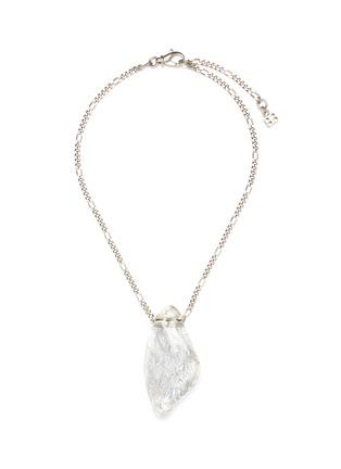 Main View - Click To Enlarge - BALENCIAGA - 'Rock' pendant necklace