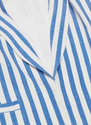 - ALICE + OLIVIA - 'Kylie' shawl lapel stripe blazer