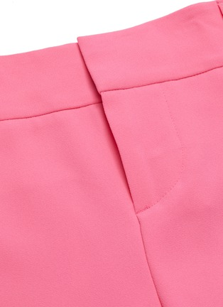 - ALICE + OLIVIA - 'Loni' tie stripe paperbag gaucho pants