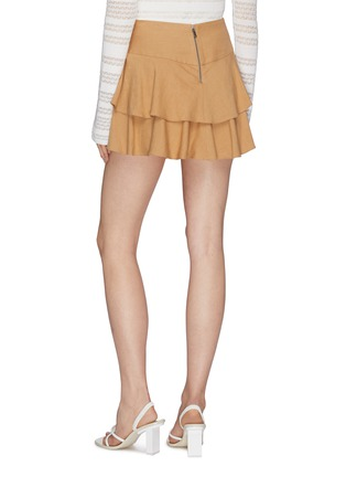 Back View - Click To Enlarge - ALICE + OLIVIA - 'Paloma' tiered ruffle skort