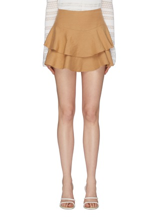 Main View - Click To Enlarge - ALICE + OLIVIA - 'Paloma' tiered ruffle skort