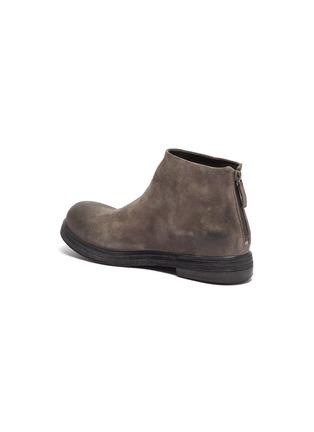 - MARSÈLL - 'Zucca Zeppa' distressed suede boots