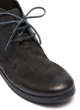 Detail View - Click To Enlarge - MARSÈLL - 'Listello' distressed leather chukka boots