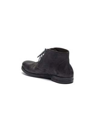 - MARSÈLL - 'Listello' distressed leather chukka boots