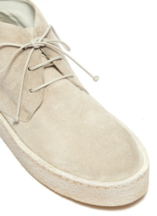 Detail View - Click To Enlarge - MARSÈLL - 'Cassapara' suede chukka boots
