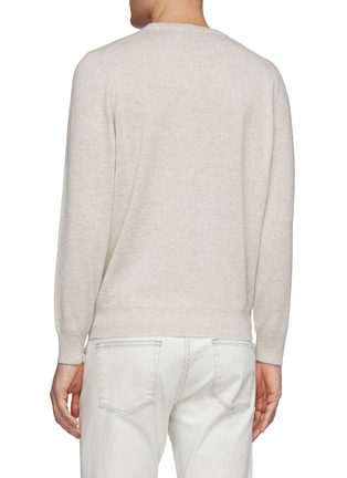Back View - Click To Enlarge - BRUNELLO CUCINELLI - Cashmere sweater