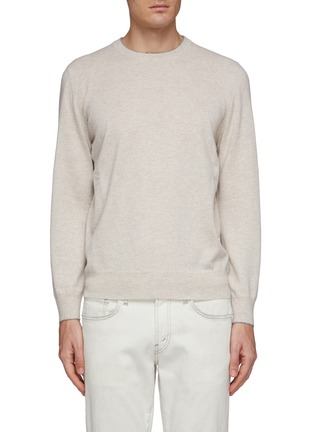 Main View - Click To Enlarge - BRUNELLO CUCINELLI - Cashmere sweater