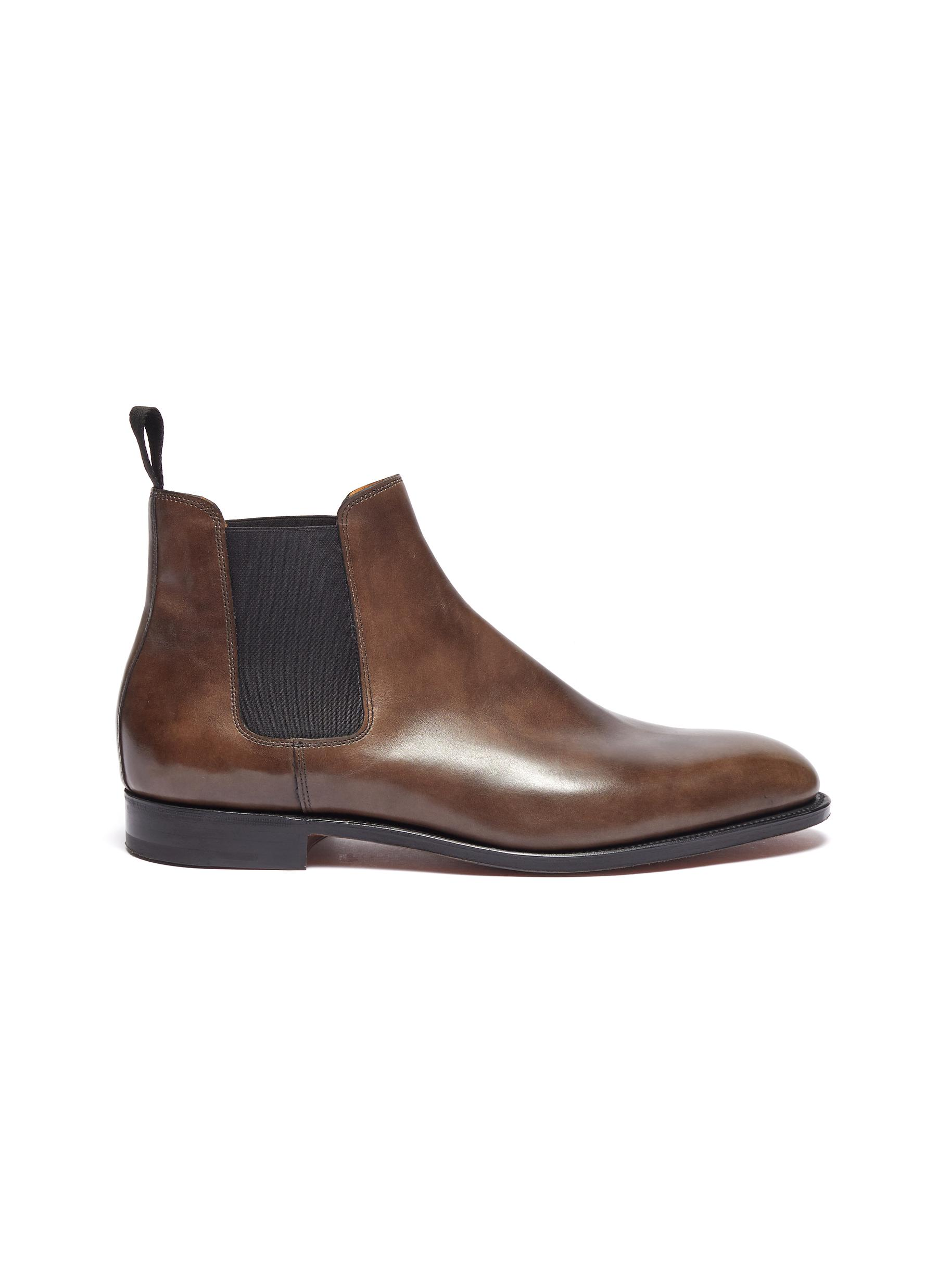 'Lawry' leather Chelsea boots
