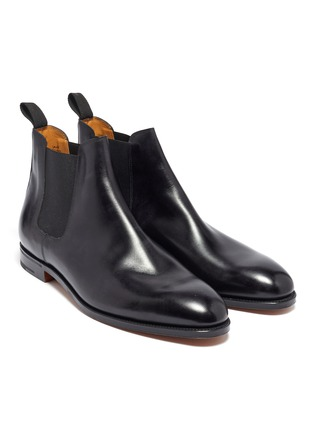Detail View - Click To Enlarge - JOHN LOBB - 'Lawry' leather Chelsea boots