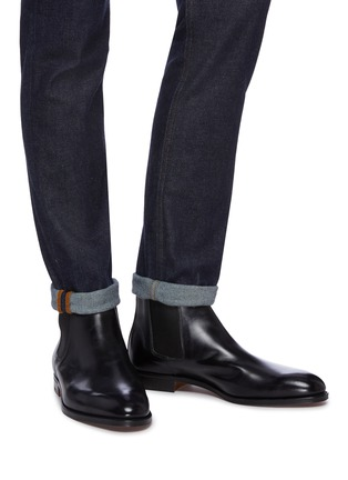 Figure View - Click To Enlarge - JOHN LOBB - 'Lawry' leather Chelsea boots
