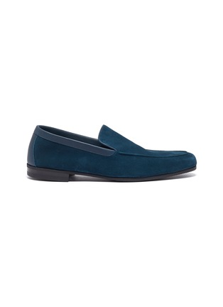 Main View - Click To Enlarge - JOHN LOBB - 'Tyne' suede loafers