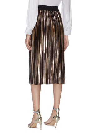 Back View - Click To Enlarge - ALICE + OLIVIA - 'Mikaela' pleated skirt