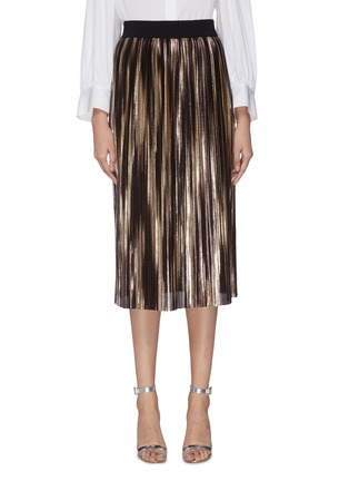 Main View - Click To Enlarge - ALICE + OLIVIA - 'Mikaela' pleated skirt