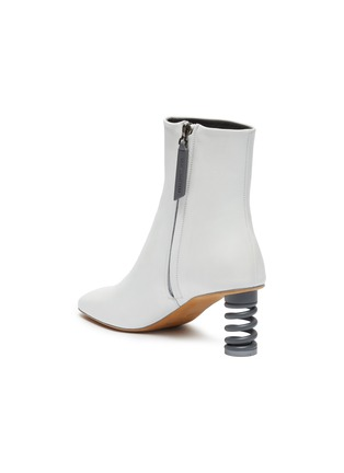 - GRAY MATTERS - 'Molla' spring heel leather ankle boots