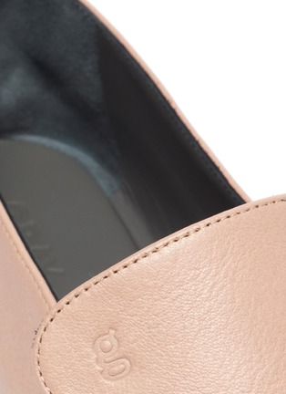 Detail View - Click To Enlarge - GRAY MATTERS - 'Comoda' leather loafers