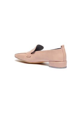 - GRAY MATTERS - 'Comoda' leather loafers