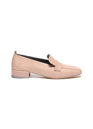 Main View - Click To Enlarge - GRAY MATTERS - 'Comoda' leather loafers