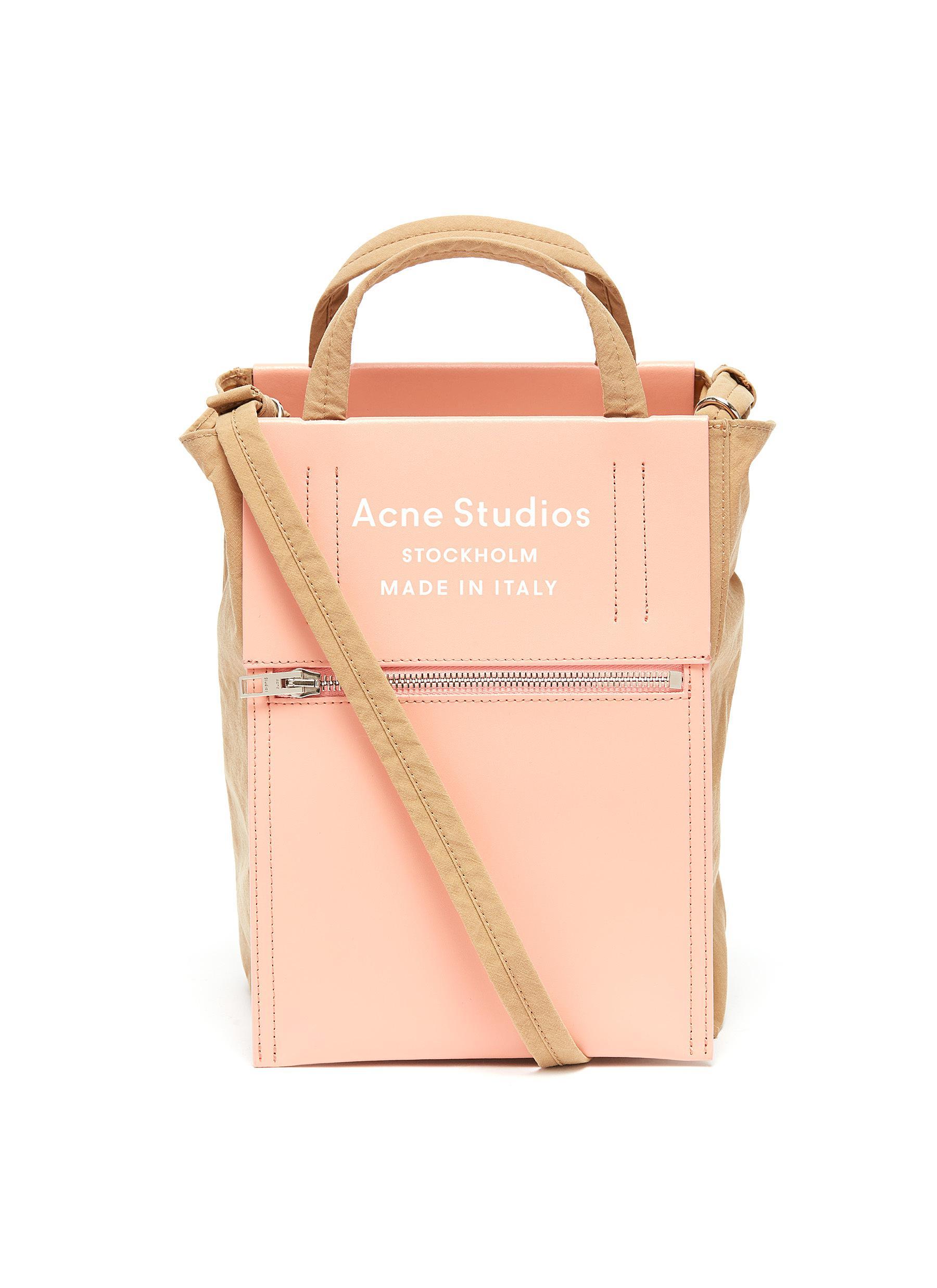 7d431e6e82c Acne Studios 'Baker Out' Logo Print Small Tote Bag | ModeSens