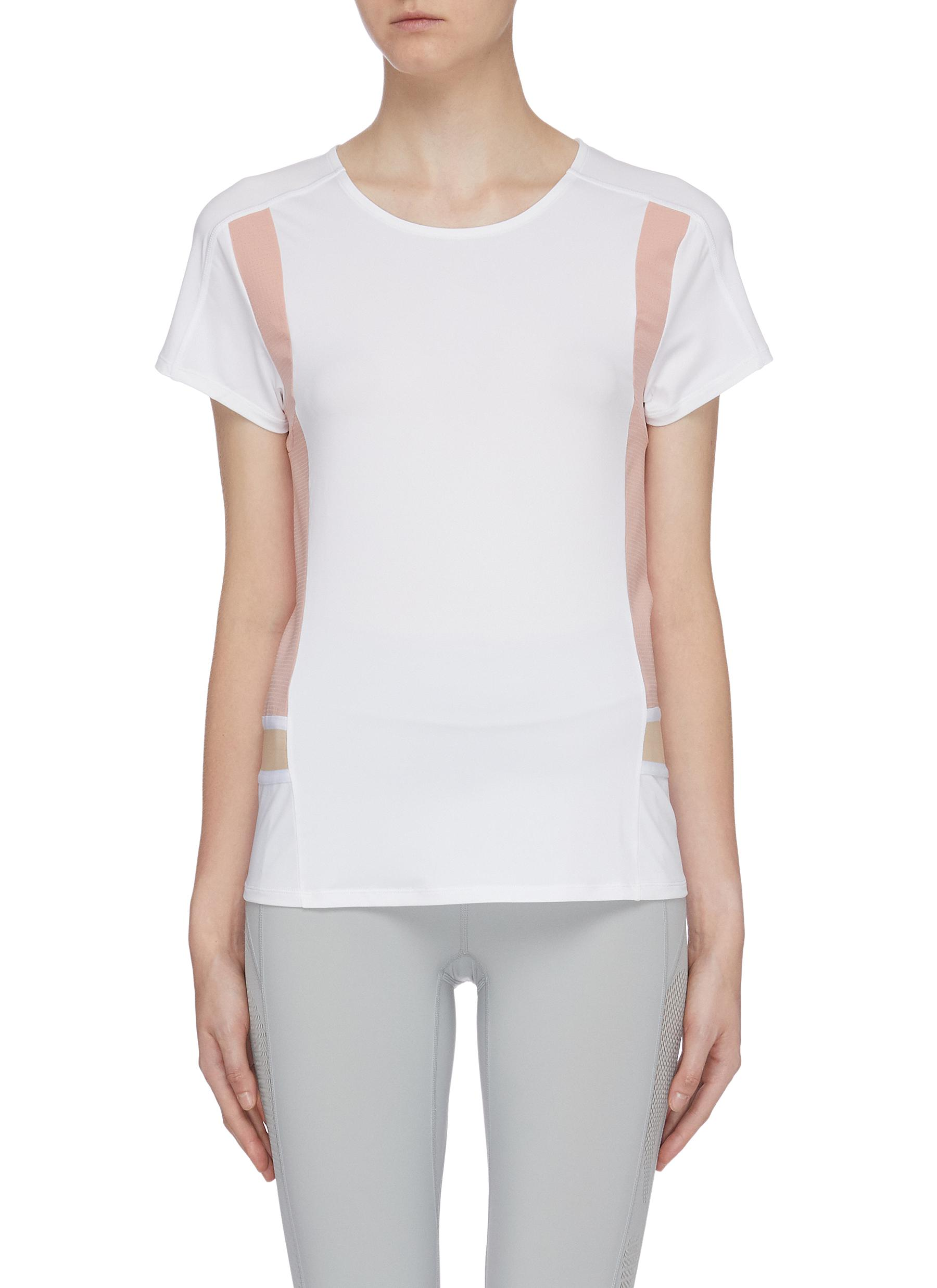 Contrast panel Particle Noofuu T-shirt by Particle Fever