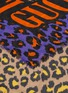Detail View - Click To Enlarge - GUCCI - Logo leopard print modal-silk scarf