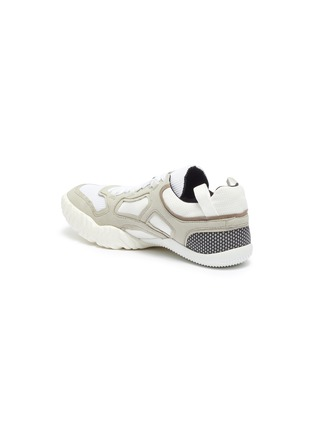 - ACNE STUDIOS - Chunky outsole suede panel mesh sneakers