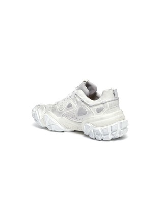 - ACNE STUDIOS - 'Bolzter W Tumbled' panelled distressed sneakers