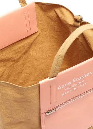 Detail View - Click To Enlarge - ACNE STUDIOS - Logo print large tote bag