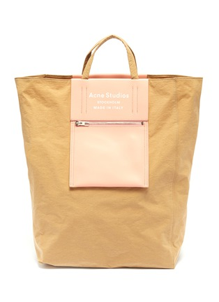 Main View - Click To Enlarge - ACNE STUDIOS - Logo print large tote bag