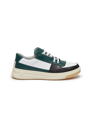 Main View - Click To Enlarge - ACNE STUDIOS - 'Perey' patchwork colourblock sneakers