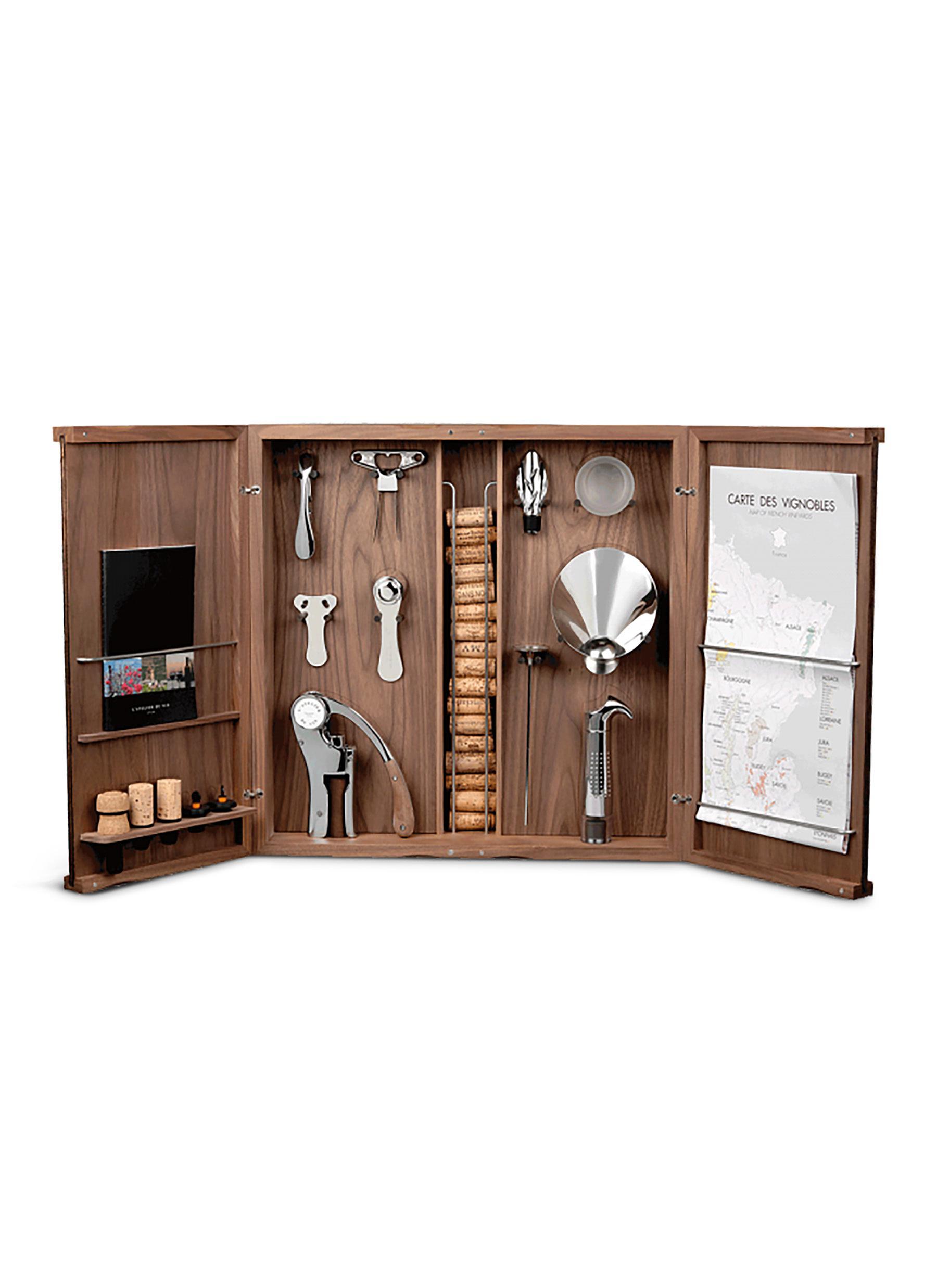 L/'Atelier du Vin Hardwood and Stainless Steel Chef Sommelier Corkscrew