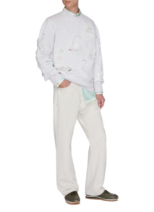 Figure View - Click To Enlarge - OUR LEGACY - 'Third Cut' straight leg jeans