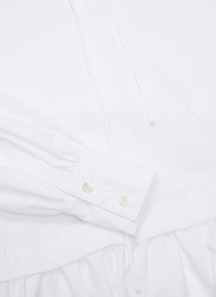 - JW ANDERSON - Neck tie panelled drape dress
