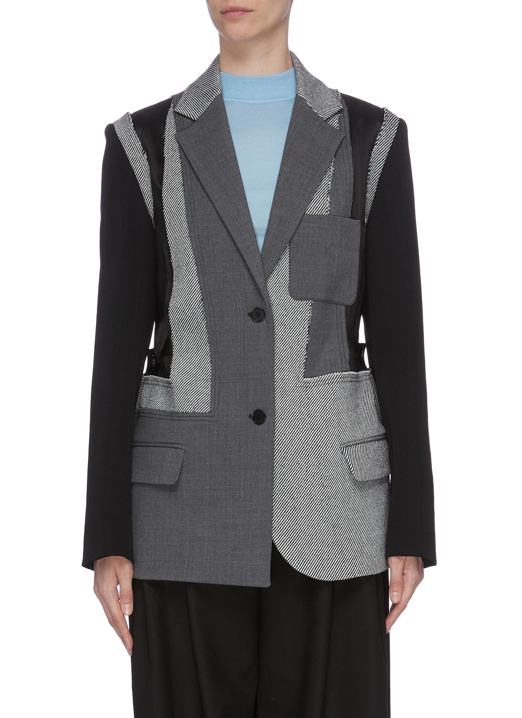 Patchwork blazer by Jw Anderson