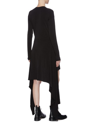 Back View - Click To Enlarge - JW ANDERSON - Drape dress